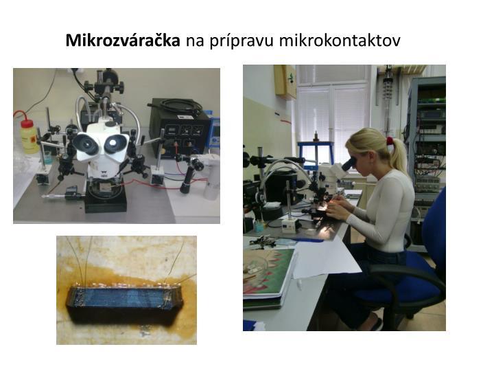 Mikrozváračka