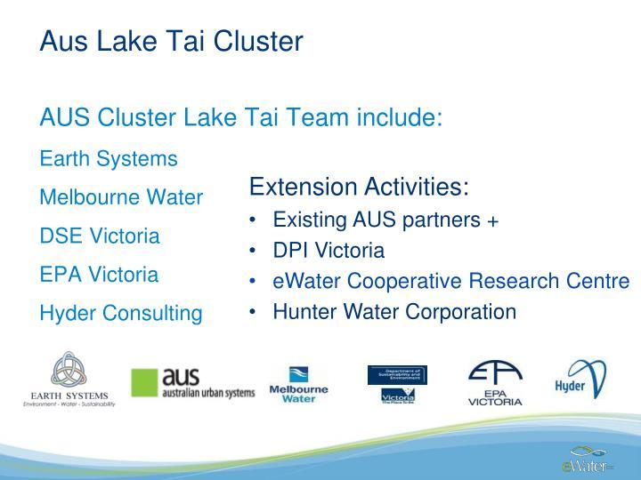 Aus Lake Tai Cluster