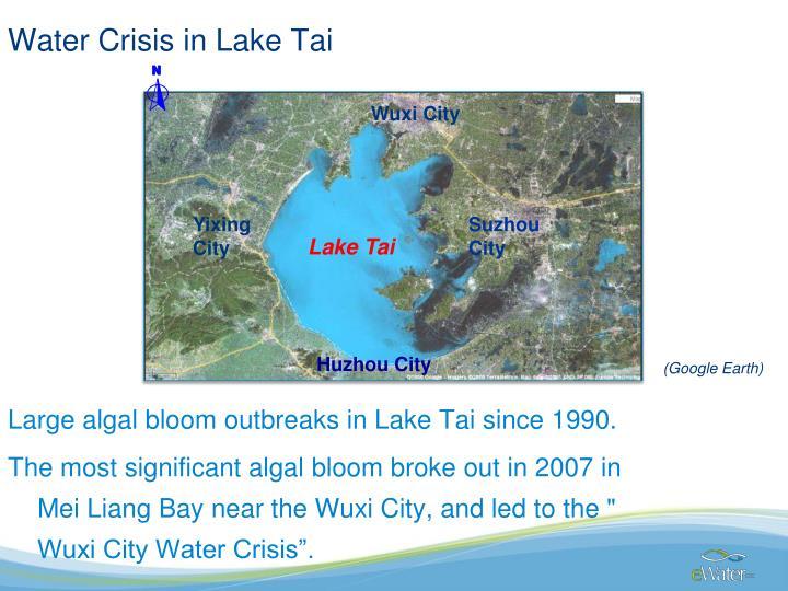 Water Crisis in Lake Tai