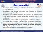 recomand ri