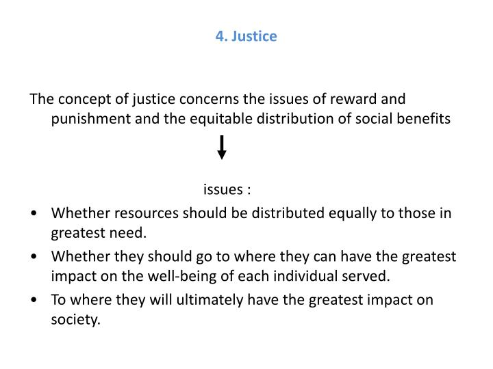 4. Justice