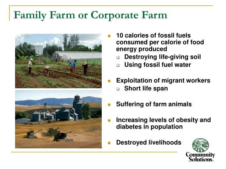 Family Farm or Corporate Farm