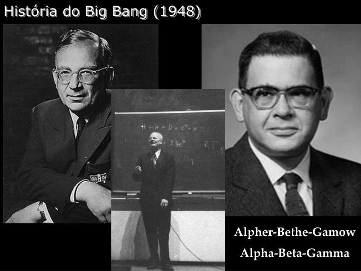 História do Big Bang (1948)