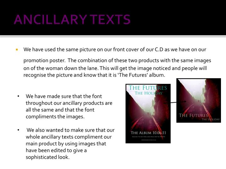 Ancillary texts