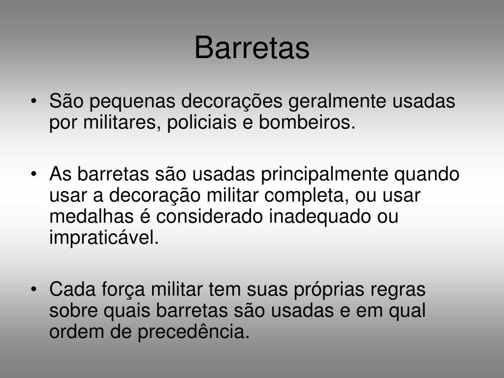 Barretas