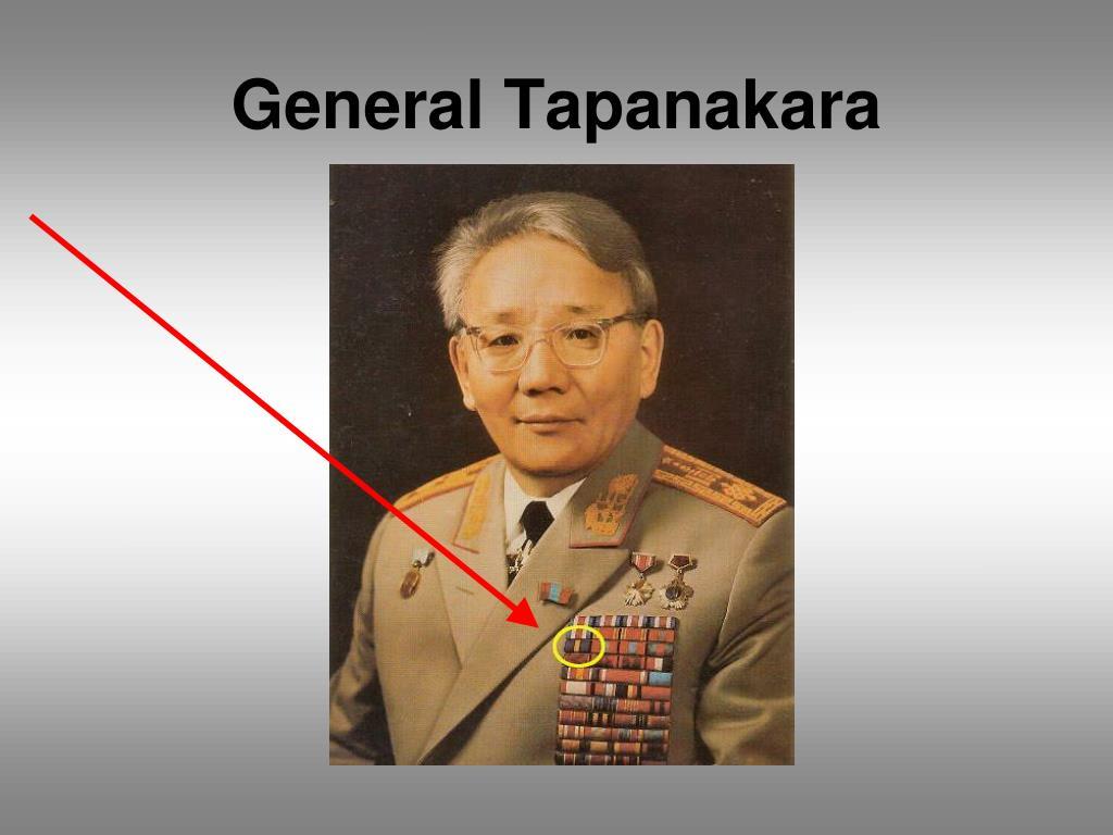 General Tapanakara