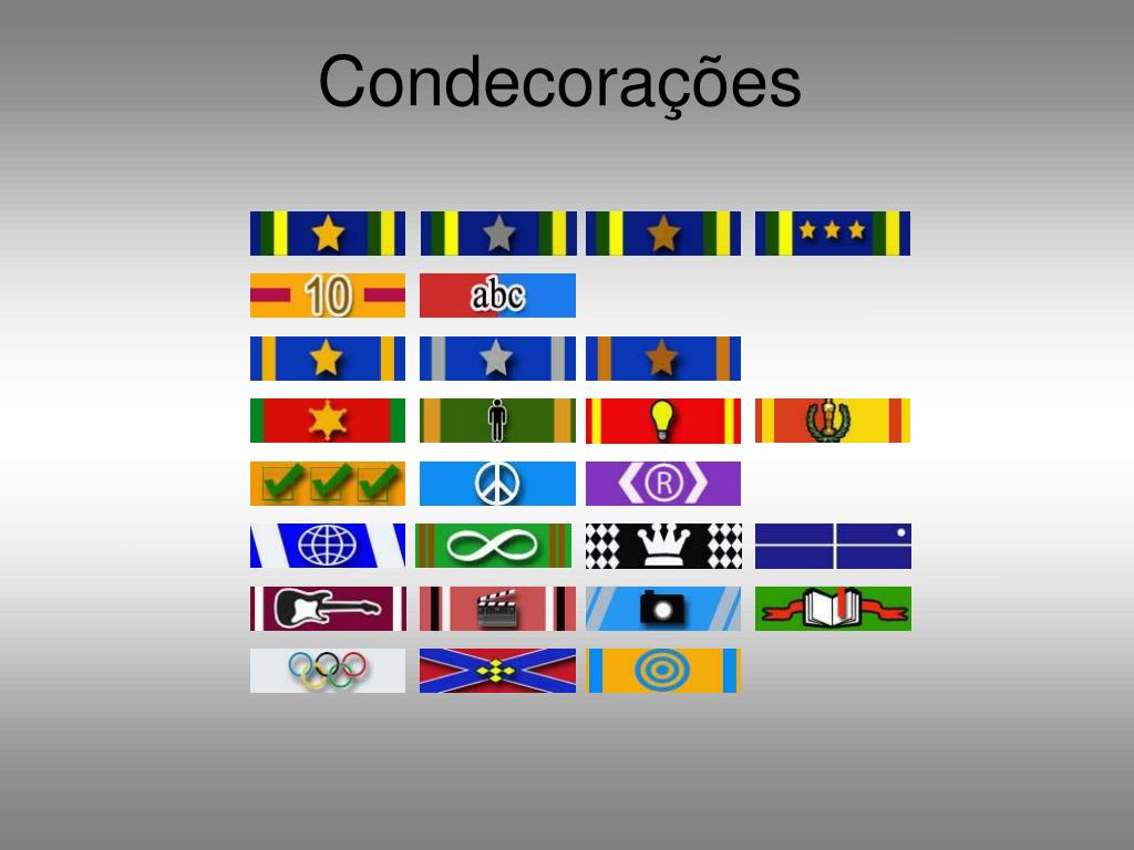 Condecorações