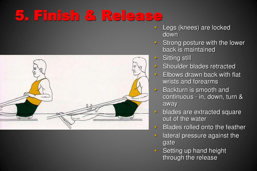 5. Finish & Release