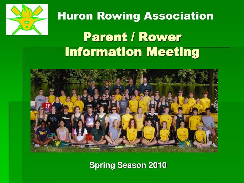 Parent / Rower