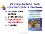 25 things to do to reach reluctant readers tomorrow3