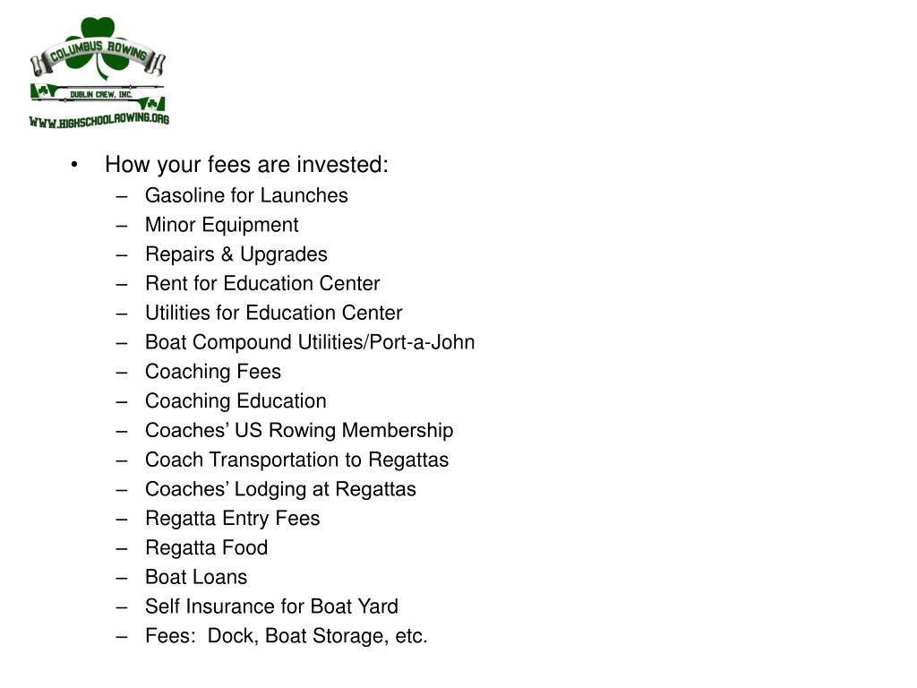 How your fees are invested:
