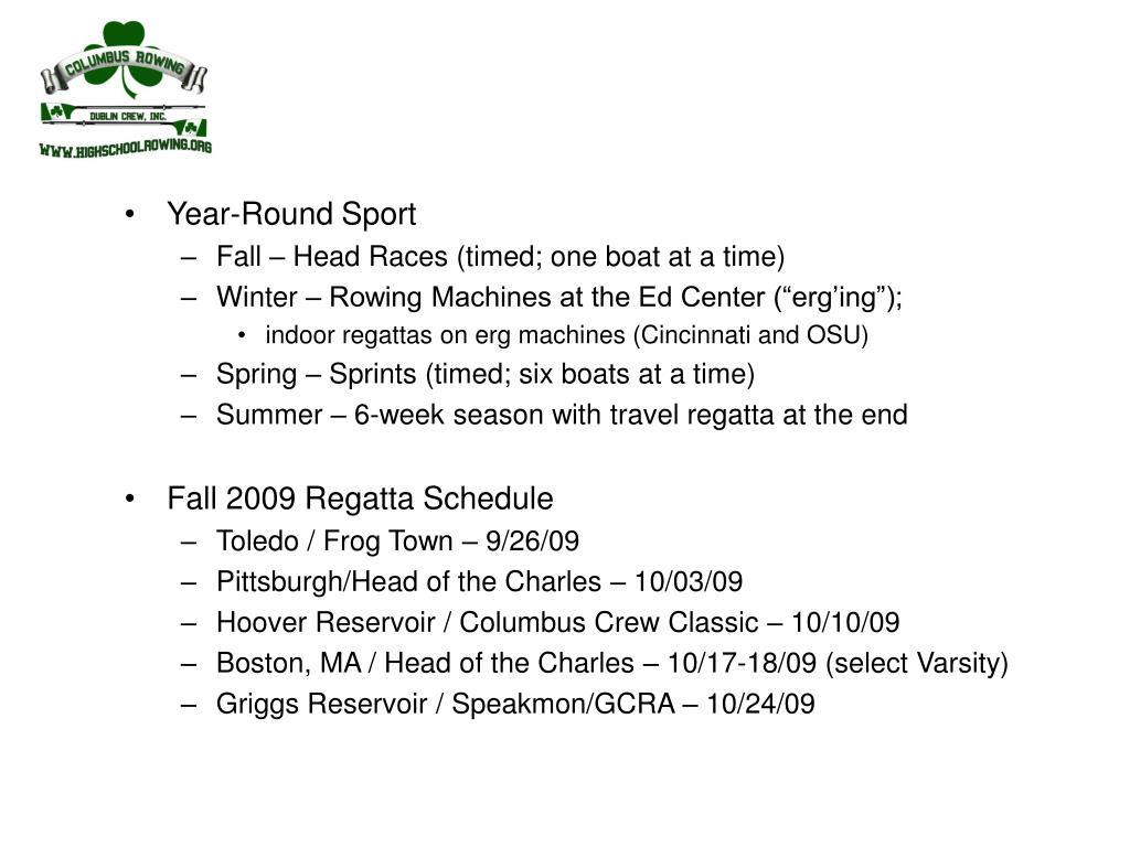 Year-Round Sport