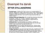 eksempel fra dansk1