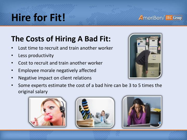 Hire for Fit!