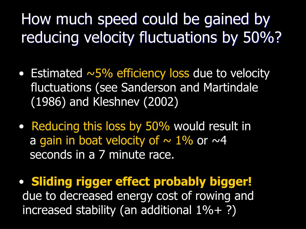 How much speed could be gained by