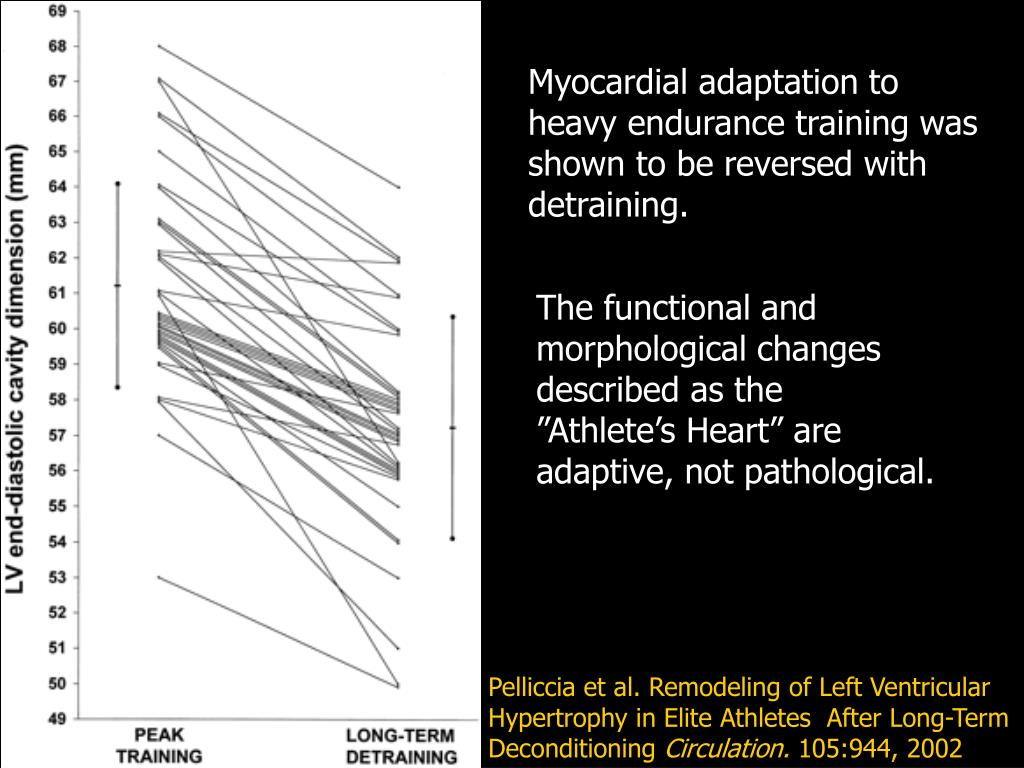 Myocardial adaptation to