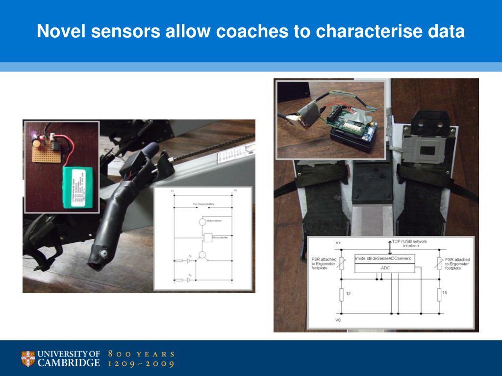 Novel sensors allow coaches to characterise data
