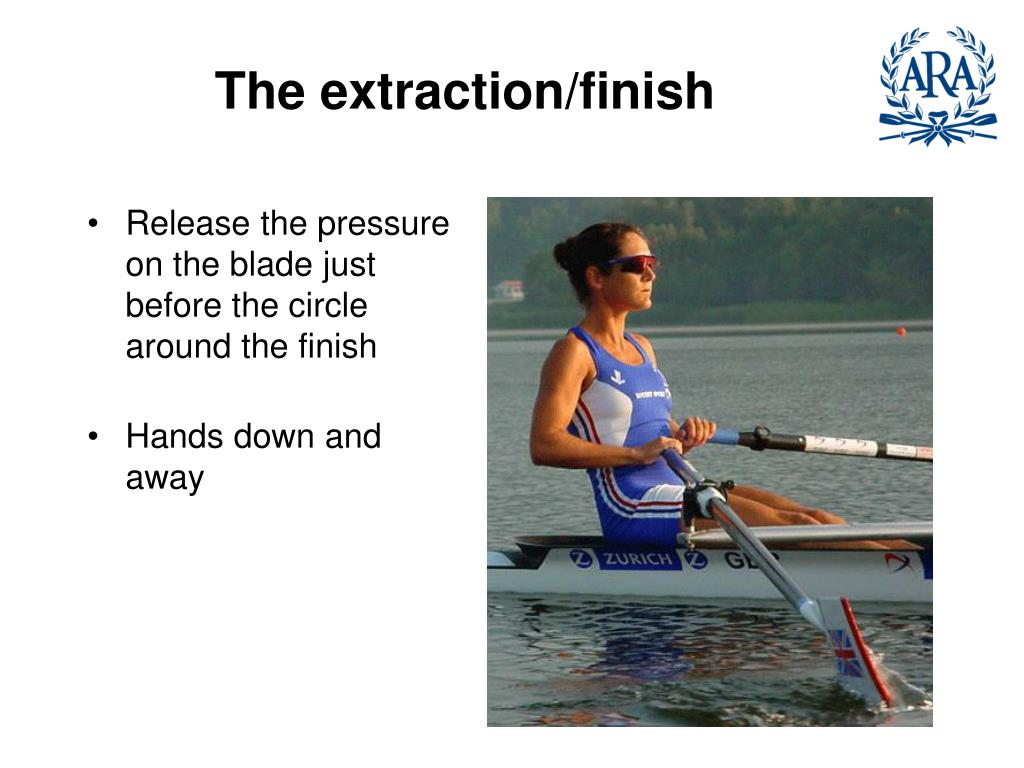 The extraction/finish