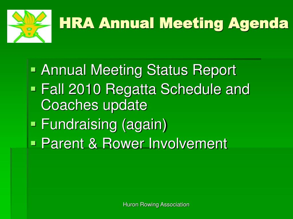 Huron Rowing Association