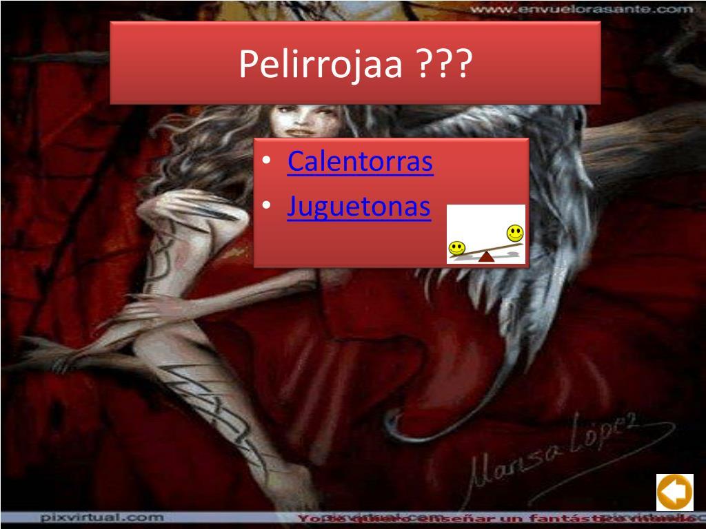 Pelirrojaa