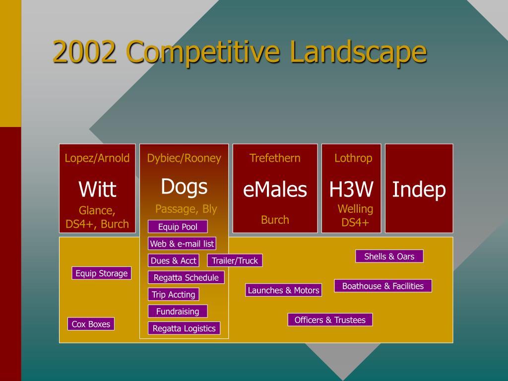 2002 Competitive Landscape