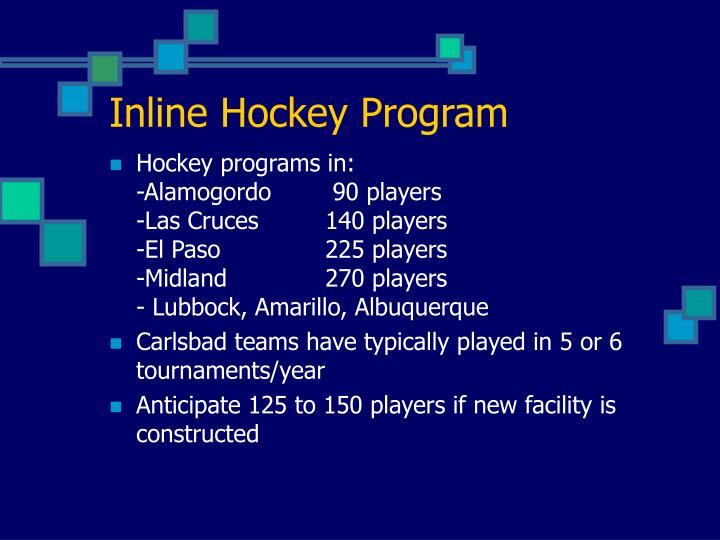 Inline Hockey Program
