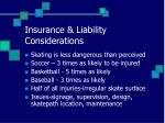 insurance liability considerations