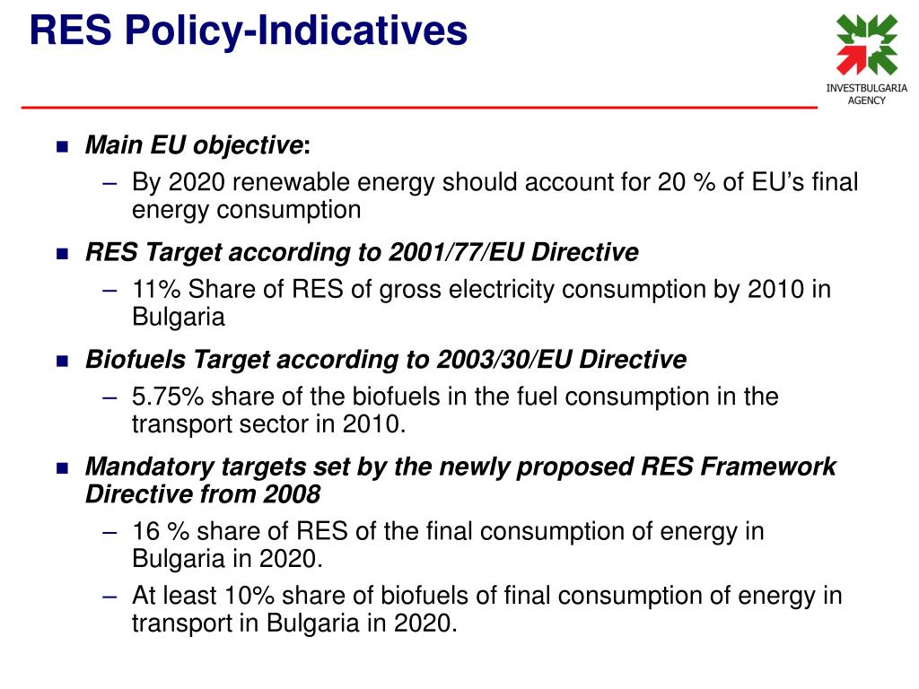 Main EU objective