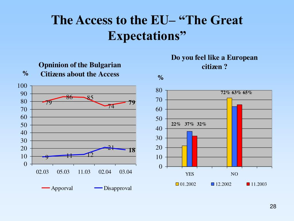 "The Access to the EU– ""The Great Expectations"""