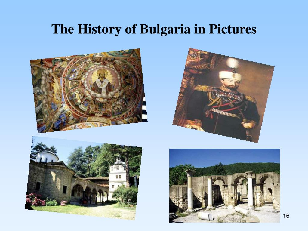 The History of Bulgaria in Pictures