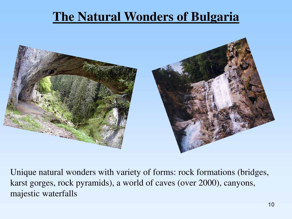 The Natural Wonders of Bulgaria