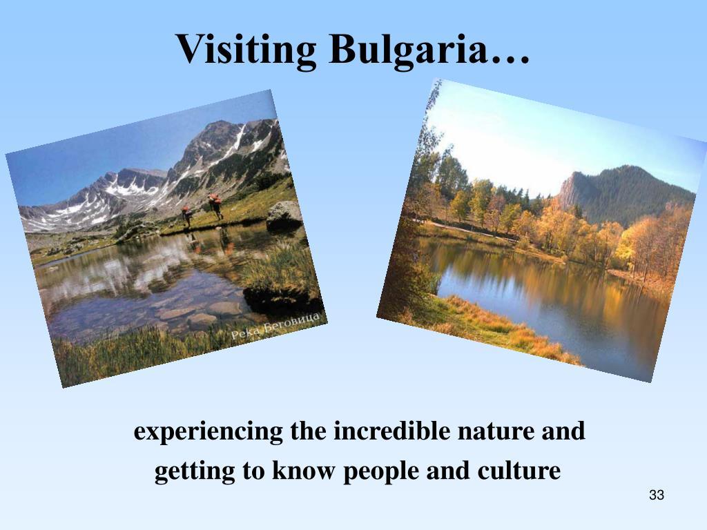 Visiting Bulgaria…