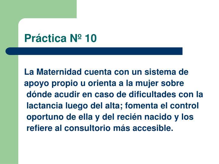 Práctica Nº 10