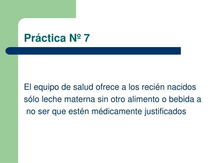Práctica Nº 7