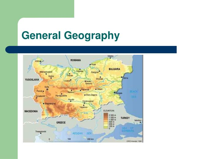 General geography