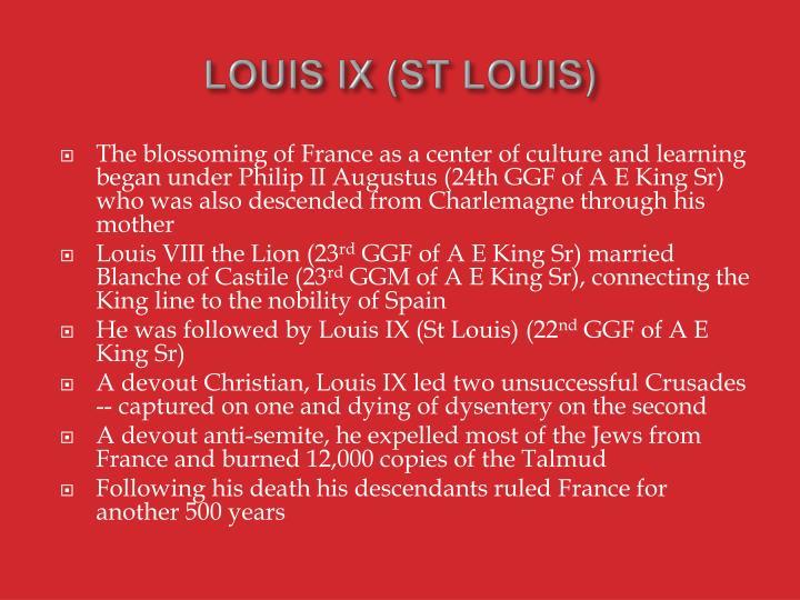 LOUIS IX (ST LOUIS)