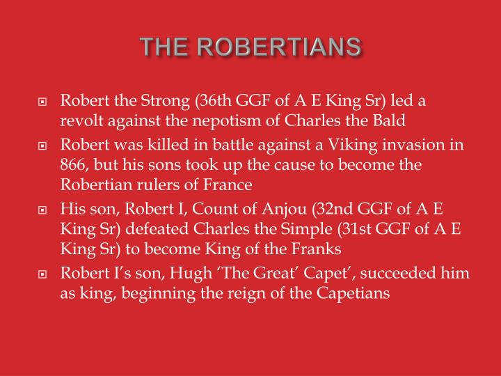 THE ROBERTIANS