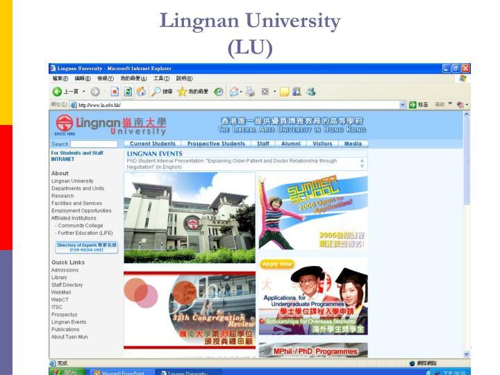 Lingnan University
