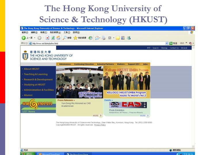 The Hong Kong University of