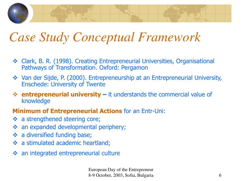 Case Study Conceptual Framework