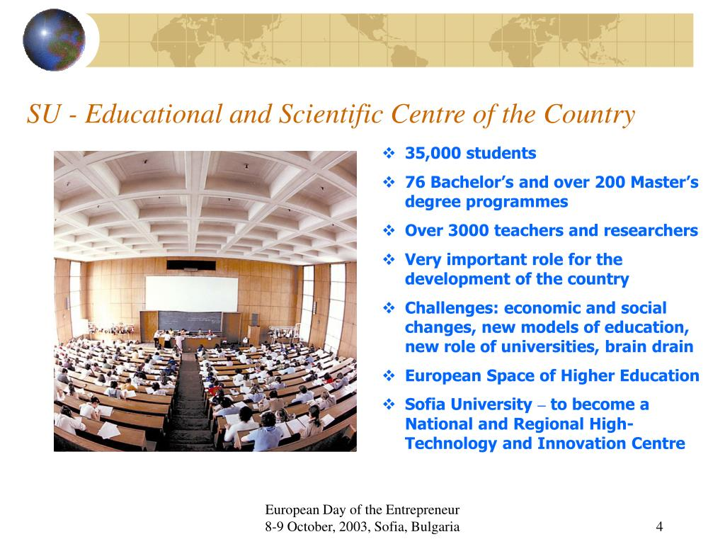 SU - Educational and Scientific Centre of the Country