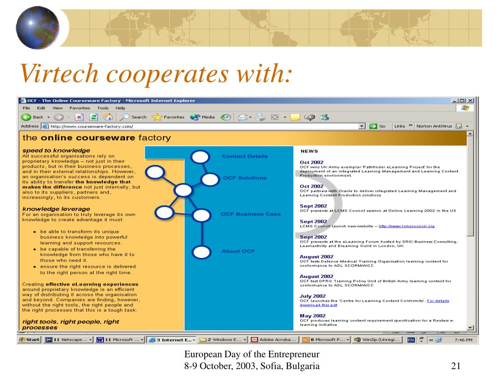 Virtech cooperates with: