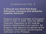 questionnaire no 215