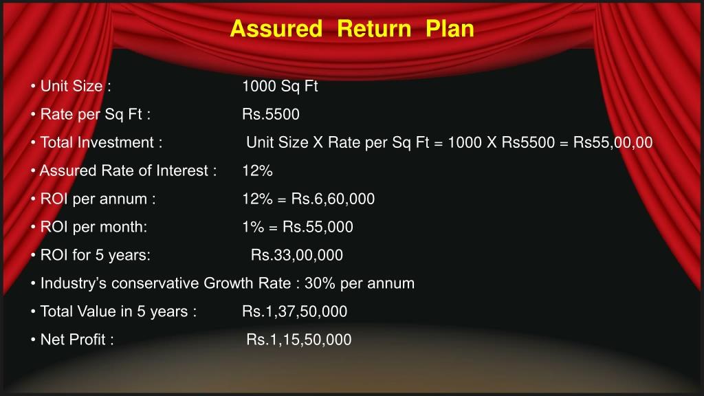 Assured  Return  Plan