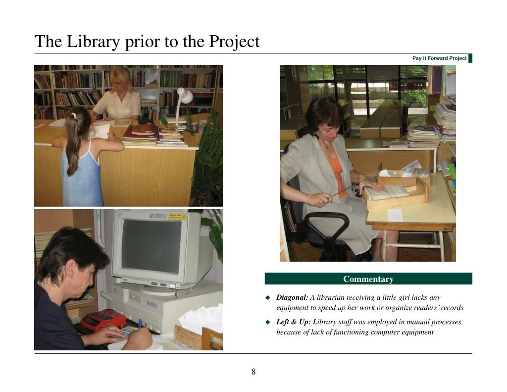 The Library prior to the Project