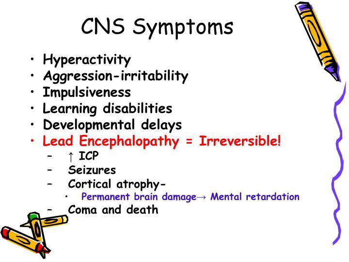 CNS Symptoms