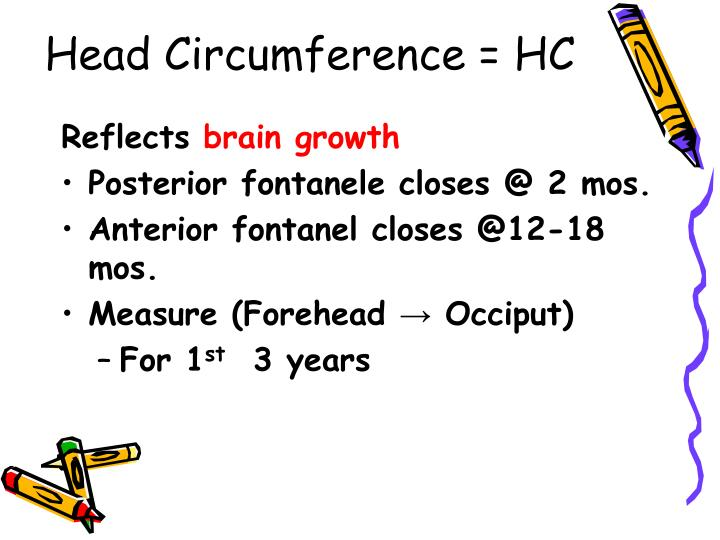 Head Circumference = HC