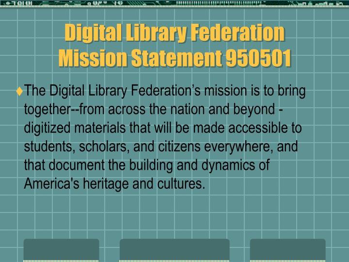 Digital Library Federation