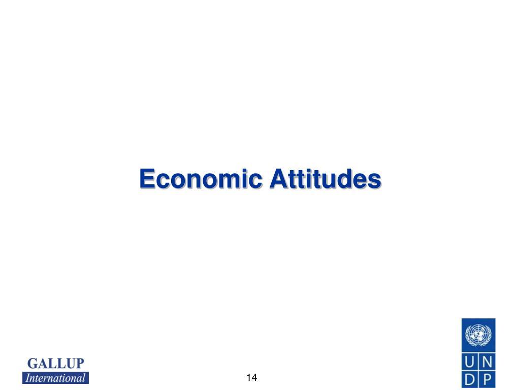 Economic Attitudes