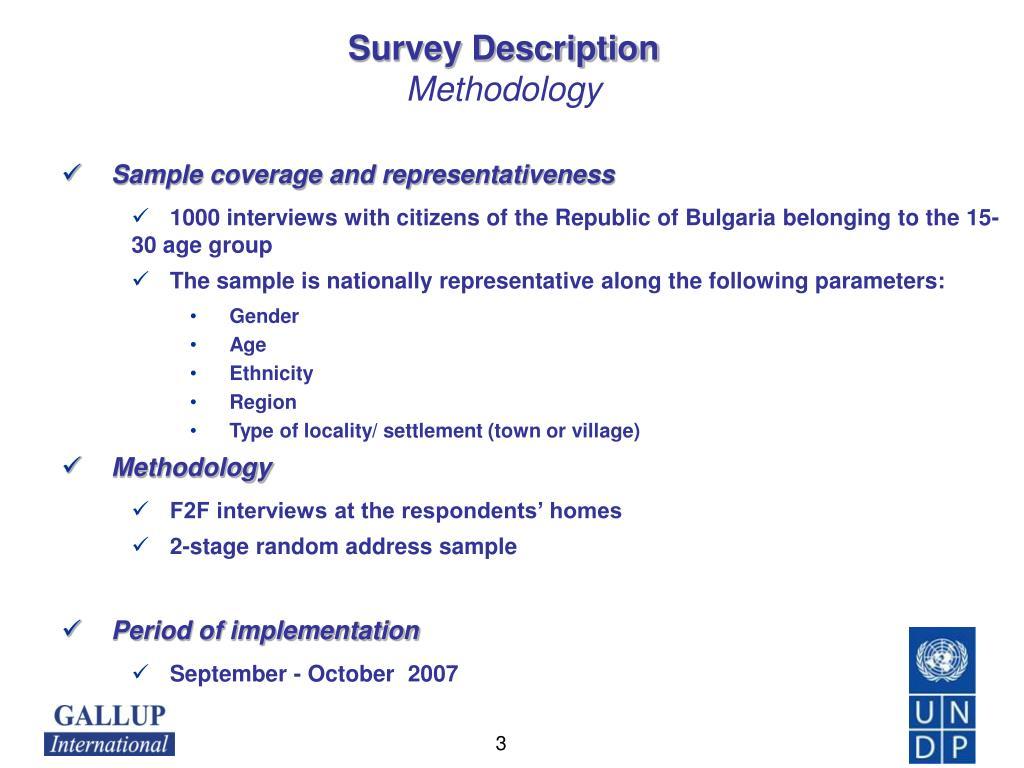 Survey Description